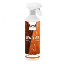 Leather vintage lotion