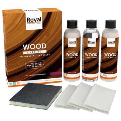 Wood care kit natural