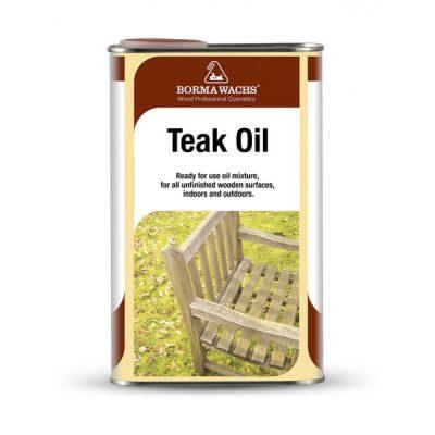 1 liter teakolie voor hardhouten tuinmeubels